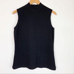 St. John Basics Sleeveless Knit Shell Small Top